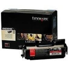 CARTUS TONER 64036HE 21000pg ORIGINAL LEXMARK OPTRA T640