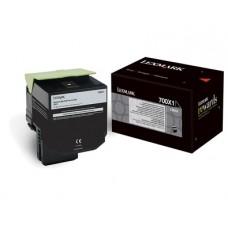 CARTUS TONER BLACK NR700X1 70C0X10 8K ORIGINAL LEXMARK CS510DE