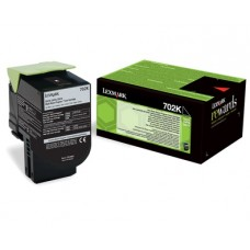 CARTUS TONER BLACK RETURN NR.702K 70C20K0 1000pg ORIGINAL LEXMARK CS310N