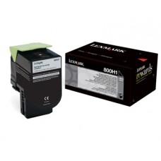 CARTUS TONER BLACK NR800H1 80C0H10 4K ORIGINAL LEXMARK CX410E