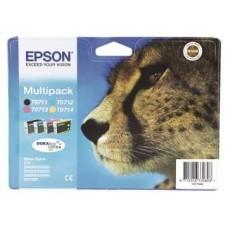 MULTIPACK CMYK C13T07154010 ORIGINAL EPSON STYLUS D78