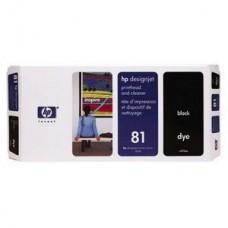 CAP IMPRIMARE & CLEANER DYE BLACK NR.81 C4950A ORIGINAL HP DESIGNJET 5000