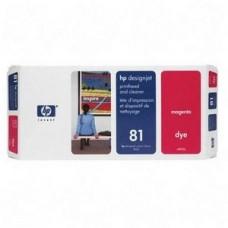 CAP IMPRIMARE & CLEANER DYE MAGENTA NR.81 C4952A ORIGINAL HP DESIGNJET 5000