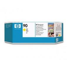 CAP IMPRIMARE & CLEANER YELLOW NR.90 C5057A ORIGINAL HP DESIGNJET 4000