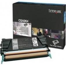 CARTUS TONER BLACK C5242KH 8K ORIGINAL LEXMARK C524