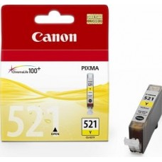 CARTUS YELLOW CLI-521Y 9ML ORIGINAL CANON IP4600