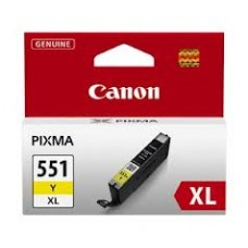 CARTUS YELLOW CLI-551XLY 11ML ORIGINAL CANON PIXMA IP7250