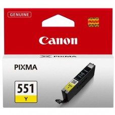 CARTUS YELLOW CLI-551Y 7ML ORIGINAL CANON PIXMA IP7250