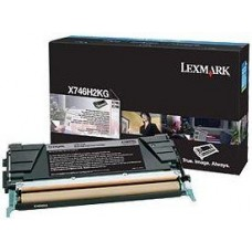 CARTUS TONER BLACK X746H2KG 12000pg  ORIGINAL LEXMARK X746DE