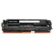 HP LASERJET CP4525N CARTUS TONER BLACK NR649X CE260X 17K REMANUFACTURAT