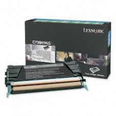 CARTUS TONER BLACK RETURN C736H1KG 12000pg  ORIGINAL LEXMARK C736N