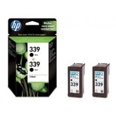 TWIN PACK CARTUS BLACK NR339 C9504EE 2X21ML ORIGINAL HP DESKJET 6540