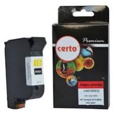 CARTUS COMPATIBIL  BLACK NR.15 C6615DE HP DESKJET 840C
