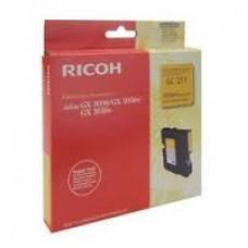 CARTUS GEL BLACK GC-21KHY 405536  -3000pg  ORIGINAL RICOH AFICIO GX7000