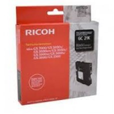 CARTUS GEL BLACK GC-31KHY 405701 -3000pg  ORIGINAL RICOH AFICIO GX E5550N