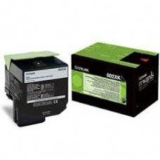 CARTUS TONER BLACK RETURN NR.802XK 80C2XK0 8000pg  ORIGINAL LEXMARK CX510DE
