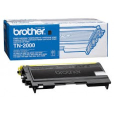 CARTUS TONER BLACK TN2000 -2500pg ORIGINAL BROTHER HL-2070N