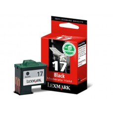 CARTUS BLACK NR.17 HC 10NX217E 7,4ML -210pg ORIGINAL LEXMARK Z33
