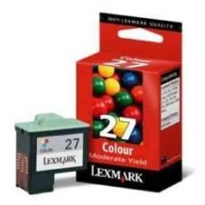 CARTUS COLOR NR27 HC 10NX227E ORIGINAL LEXMARK Z33