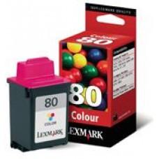 CARTUS COLOR NR.80 12A1980E ORIGINAL LEXMARK 5000