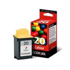 CARTUS COLOR NR.20 15MX120E -450pgORIGINAL LEXMARK Z51