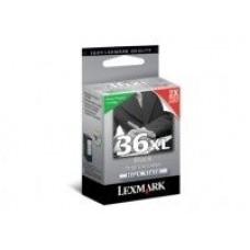 CARTUS BLACK RETURN NR.36XL 18C2170E ORIGINAL LEXMARK X3650