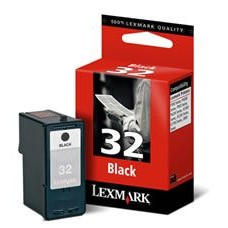 CARTUS BLACK NR.32 HC 18CX032E-363pg ORIGINAL LEXMARK Z815