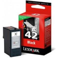 CARTUS BLACK RETURN NR.42 18Y0142E ORIGINAL LEXMARK X4850