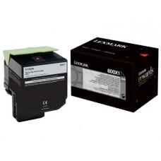 CARTUS TONER BLACK NR800X1 80C0X10 8K ORIGINAL LEXMARK CX510DE