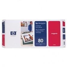 CAP IMPRIMARE & CLEANER MAGENTA NR80 C4822A ORIGINAL HP DESIGNJET 1050