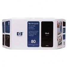 CARTUS BLACK NR80 C4871A 350ML ORIGINAL HP DESIGNJET 1050