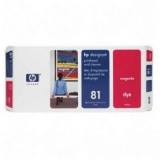 CAP IMPRIMARE & CLEANER DYE MAGENTA NR81 C4952A ORIGINAL HP DESIGNJET 5000