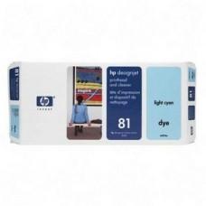 CAP IMPRIMARE & CLEANER LIGHT CYAN NR81 C4954A ORIGINAL HP DESIGNJET 5000