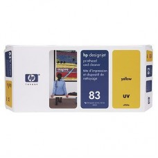 CAP IMPRIMARE & CLEANER YELLOW NR83 C4963A ORIGINAL HP DESIGNJET 5000
