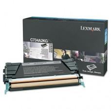 CARTUS TONER BLACK C734A2KG 8K ORIGINAL LEXMARK C734N