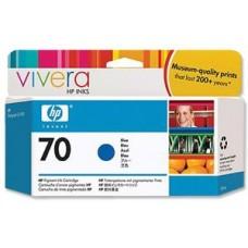 CARTUS BLUE VIVERA NR70 C9458A 130ML ORIGINAL HP DESIGNJET Z3200