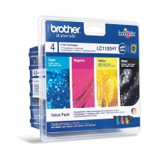 MULTIPACK CMYK LC1100HYVALBP ORIGINAL BROTHER MFC-6490CW