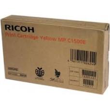 CARTUS GEL YELLOW 888548 3K ORIGINAL RICOH MP C1500SP