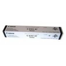CARTUS TONER BLACK C-EXV47BK -19000PG  ORIGINAL CANON IR ADVANCE C250I