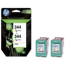 TWIN PACK CARTUS COLOR NR344 C9505EE 2X14ML ORIGINAL HP DESKJET 6540
