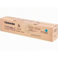 CARTUS TONER CYAN T-FC35C- 21000pg  ORIGINAL TOSHIBA E-STUDIO 2500