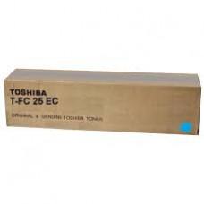 CARTUS TONER CYAN T-FC25EC 26K ORIGINAL TOSHIBA E-STUDIO 2540C