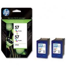 TWIN PACK CARTUS COLOR NR.57 C9503AE 2X17ML ORIGINAL HP PHOTOSMART 100